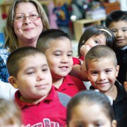 Maria Ruelas at LP Waters Early Childhood Center